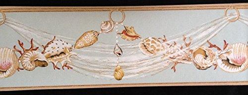 York Wallcoverings Underwater Seashell Wallpaper Border