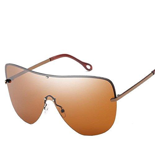 Aoligei Mode métal grande trame haute définition Polarized lunettes de soleil Europe et aux États-Unis, la tendance générale de pare-soleil Lunettes de soleil A