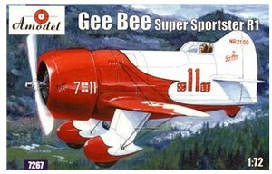 Gee Bee Super Sportster R1 Aircraft 1/72 Amodel - Airplane Bee Gee