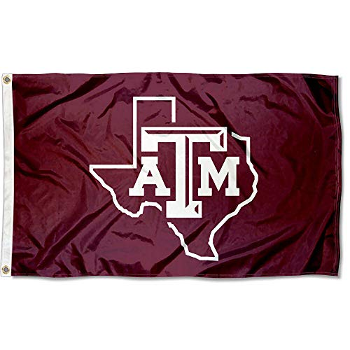 (College Flags and Banners Co. Texas A&M University Lone Star 3x5 Flag)