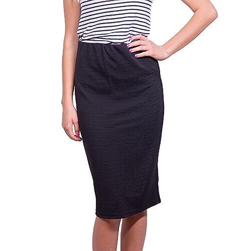 Black Skirt Below Knee