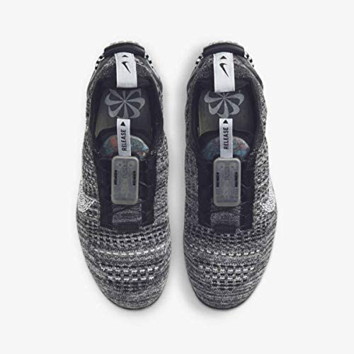 Nike Boys AIR Vapormax 2020 Flyknit Running Shoes Grey/Black    Add some pep to your step in the Nike Air VaporMax 2020. The unique Air shape stretches from heel to toe for an out-of-this-world look that feels like you're walking on air. Flyknit construction wraps your foot in soft comfort and style that stands out amongst the crowd.