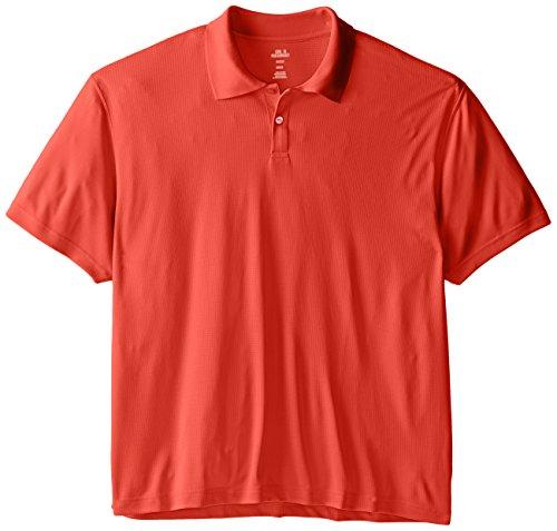 Haggar Men's Big & Tall Short-Sleeve Polo Shirt