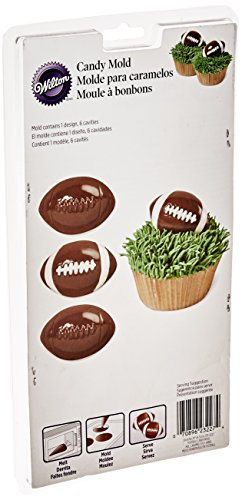 Wilton 2115-0227 Football Candy Mold