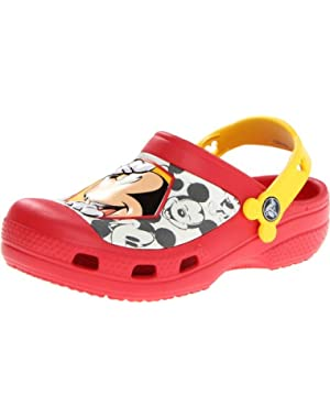 Kids' CC Mickey Peek-A-Boo Clog