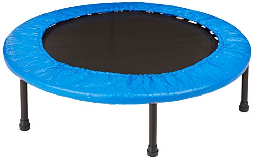 Sammons Preston Mini Exercise Trampoline, Small Trampoline for Low Impact Cardiovascular Training and Exerciser with Heavy-Duty Durable Frame for Home or Clinical Use