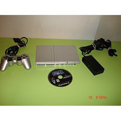 Ps2 Slim Models - PS2 Slim Silver - Model SCPH-77001