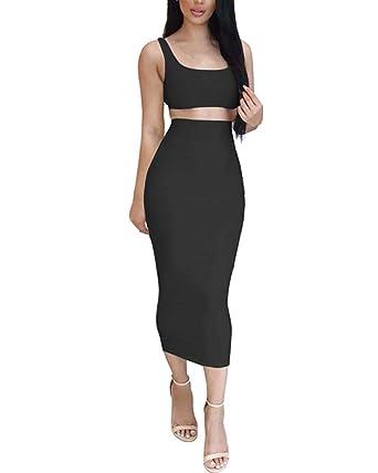 PengGengA Conjunto De Vestido Mujer Niña Tops Blusa De Vestir ...