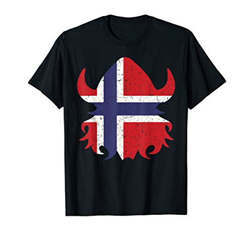 Cute Norwegian Viking Gift Shirt For Courageous Boys & Girls