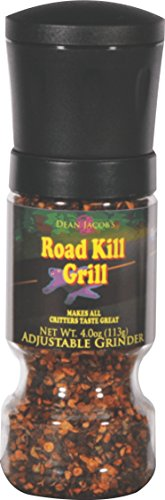 (Dean Jacob's Road Kill Grill Adjustable ~ 4 oz. Gripper Grinder)