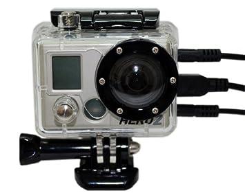 Amazon.com: Carcasa esqueleto sin lente para GoPro HD Hero ...