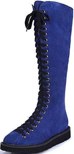 Laruise Donne Stivali High top Blu Delle U8ySq