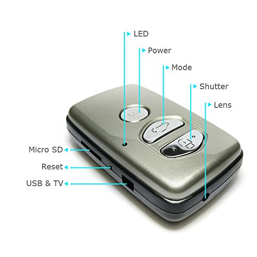 how to use keyring spy camera motion detector