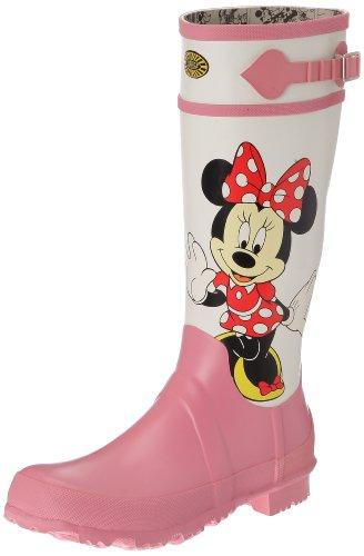 Gummistiefel - Cartoon 745-disney Minnie Rbrw - Minnie White-Pink - 41
