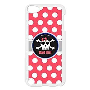 Girly Polka Dots Skull Protective Hard PC Back Fits For Case Iphone 4/4S Cover