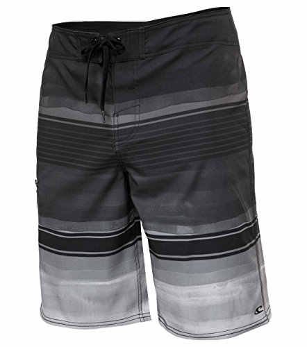O'Neill Men's Brisbane Lennox Board Shorts - Brisbane Black, Size 36 by O'Neill