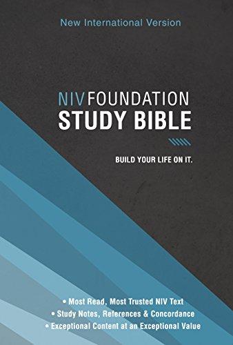 NIV, Foundation Study Bible, Ebook ()