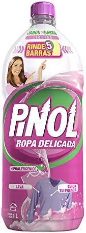 Pinol Pinol Jabón De Barra Líquido Ropa Delicada 1 L, color, 1 L, pack of/paquete de