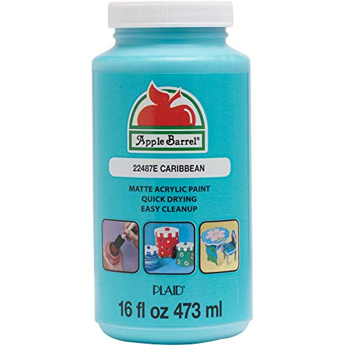 Apple Barrel Colors - Caribbean, 16 oz (12 Pack)