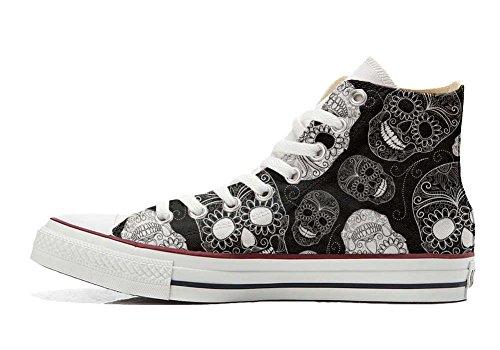 coutume artisanal Paisley mixte Converse Star adulte Hi chaussures All produit fzI8zT