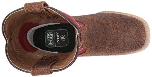 Brown Tan arena Ariat Toddler Gildo Rd Elite Tan Rls Shoes AcffzST4F