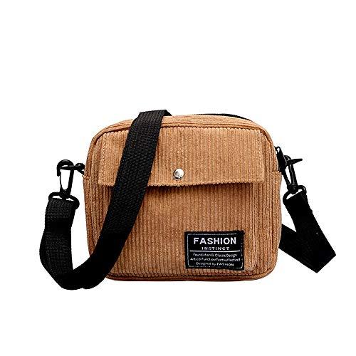 Clearance ❤ Women Bag JJLIKER Fashion Simple Leisure Corduroy Small Square Bag