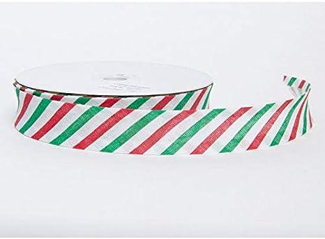 Minerva Crafts Christmas Bias Binding Tape per 2 metres