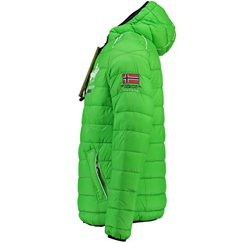 Verde Uomo Norway Giacca Geographical Trapuntata XqwzHI4