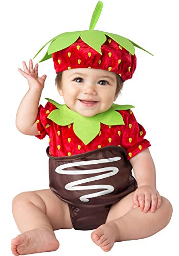 InCharacter Strawberry Baby Costume (Infant Small) -