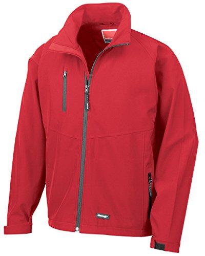 Resultado 2capa Base Soft Shell jacket-r128m Rosso