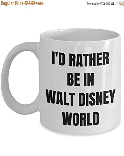 Image Unavailable  sc 1 st  Amazon.com & Amazon.com: Boyce22Par Walt Disney World Mug Id Rather Be In Walt ...