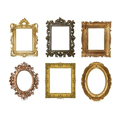 Amazon.com : Fancy Frames Bulletin Board Accents : Toy Figures ...