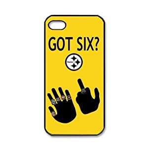 Pittsburgh Steelers GOT SIX WE DO logo iPhone 5 Hard Shells for fans by ruishername