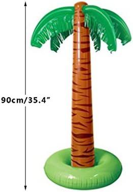 Lamdoo 90 cm Hinchable Tropical Palmera Piscina Playa Fiesta ...
