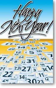 Happy New Year! (Packet of 100, - Order Order My Number Track By