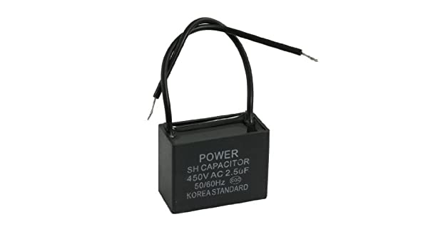 DealMux AC 450V 2.5uF 50 / 60Hz película del polipropileno del ...
