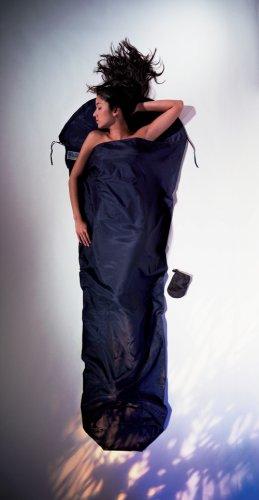 Cocoon Silk-Cotton MummyLiner (Tuareg, 95-Inch x 35/22-Inch) by Cocoon