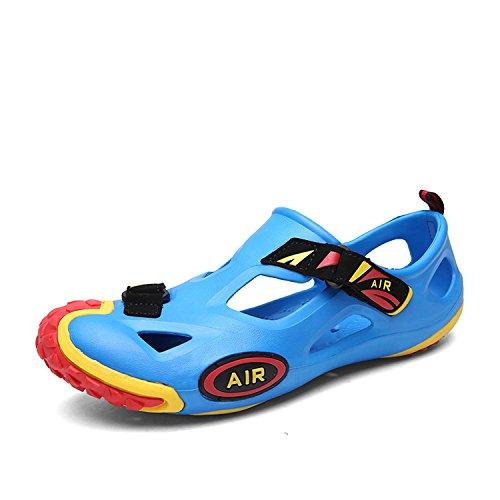Baño Beach Adultos Unisex Water Zapatos Vacaciones Verano Shoes De Sandalias amp;rojo Azul Playa Suaves Wawen Agua Eva CfY47x