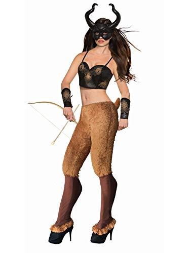 Forum Novelties Faun Pants & Shoe Covers, Brown, One Size 79382, -