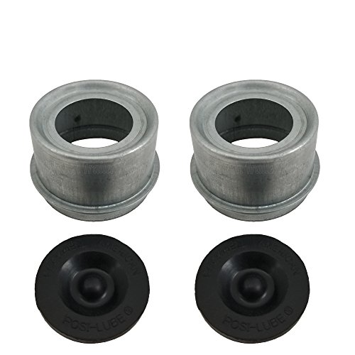 - Posi-Lube Grease Cap Set - Fits Most 2,000 to 3,500 lb Axles - 1.98