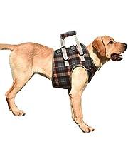 EVEL Uprząż dla psa, pomoc w transporcie, wsparcie uprząż uprząż uprząż dla psa, pomoc w przypadku słabego wieku, niepełnosprawnych, psów i psów