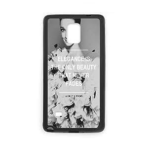 ZK-SXH - audrey hepburn Custom Case Cover for Samsung Galaxy Note 4,audrey hepburn DIY Cell Phone Case