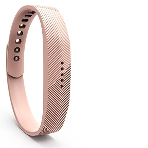 PEZAX Replacement Band for Fitbit Flex 2 - Coffee