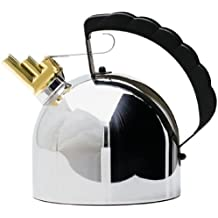 Alessi 9091 Kettle By Richard Sapper with Melodic Whistle