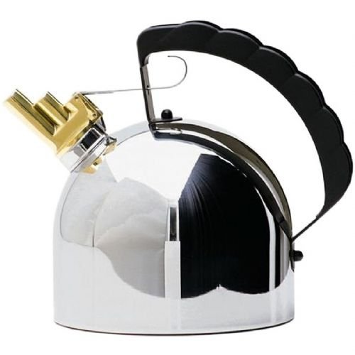Alessi 9091 Kettle By Richard Sapper with Melodic Whistle by Alessi