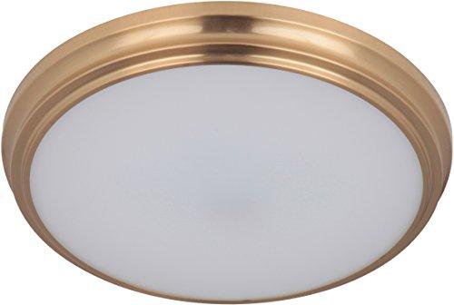 Craftmade X6611-SB-LED X66 Series LED Flush Mount Ceiling Lighting, 1-Light, 18 Watt, Satin Brass (1