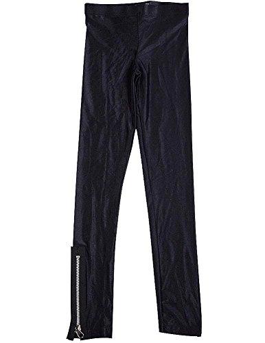 Zipper Cropped Legging - 7