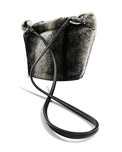 da2a9995217 ... Zara Womens Faux fur crossbody bag 8633104 Amazon.co.uk Clot huge  selection of ...