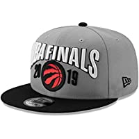 Men's New Era Graphite/Black Toronto Raptors 2019 Eastern Conference Champions - Locker Room 9FIFTY Adjustable Hat