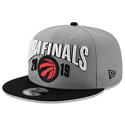 9b745c5512b Men's New Era Graphite/Black Toronto Raptors 2019 Eastern Conference ...